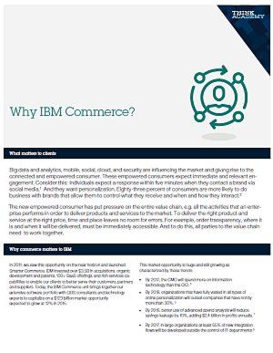 Warum IBM Commerce?