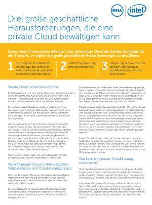 3 Herausforderungen, die eine private Cloud bewältigen kann