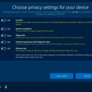 Windows-10-User erhalten umfangreichere Datenschutzoptionen