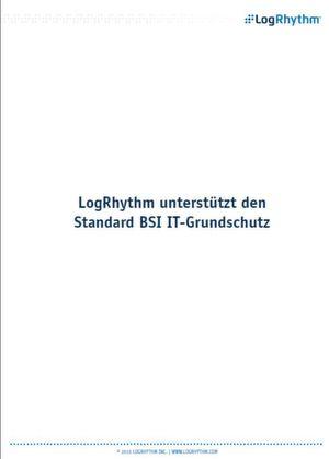 LogRhythm unterstützt den Standard BSI IT-Grundschutz