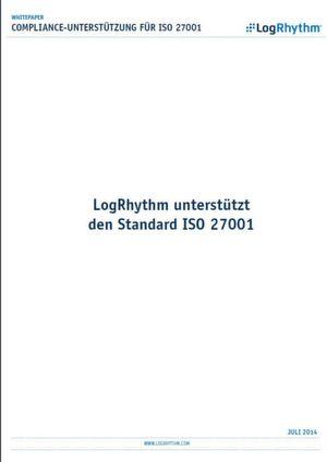 LogRhythm unterstützt den Standard ISO 27001