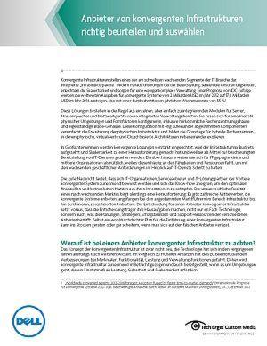 Anbieter von konvergenten Infrastrukturen