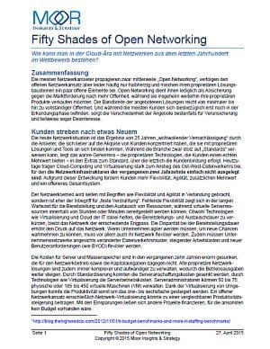 50 Shades of Open Networking