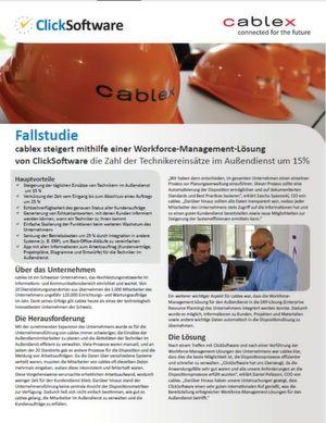 Steigerung der Technikereinsätze mithilfe einer Workforce-Management-Lösung
