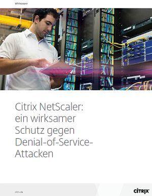 Ein wirksamer Schutz gegen Denial-of-Service-Attacken