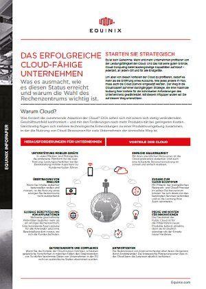 Das erfolgreiche Cloud-fähige Unternehmen
