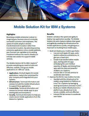 Mobile Solution Kit für IBM z Systems