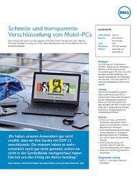 Schnelle und transparente Verschlüsselung von Mobil-PCs