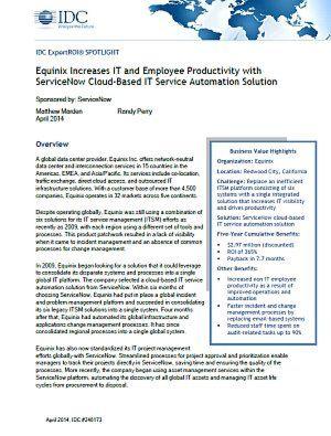 IT- und Mitarbeiterproduktivität erhöhen