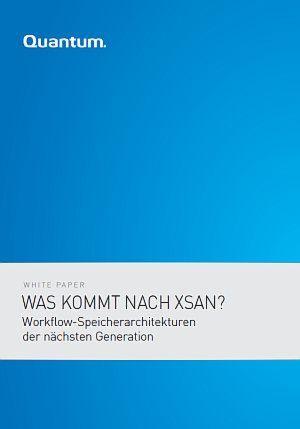 Workflow-Speicherarchitekturen der nächsten Generation