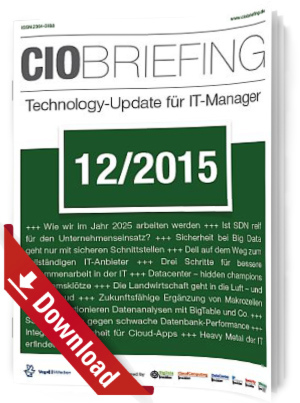 CIO Briefing 12/2015