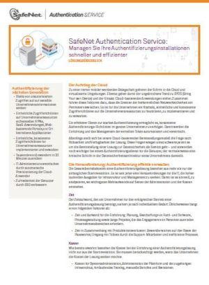 Managen Sie Ihre Authentifizierungsinstallationen schneller und effizienter