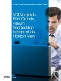 Fünf Gründe, warum XenDesktop besser ist als Horizon View