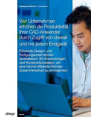 Die Produktivität der CAD-Anwender erhöhen