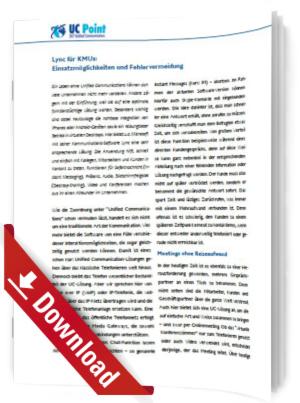 Der Einsatz von Unified Communications in KMUs