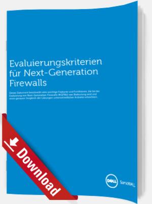 Evaluierungskriterien für Next-Generation Firewalls