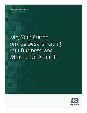 Warum Ihr aktueller Service-Desk im Dienste Ihres Unternehmens versagt