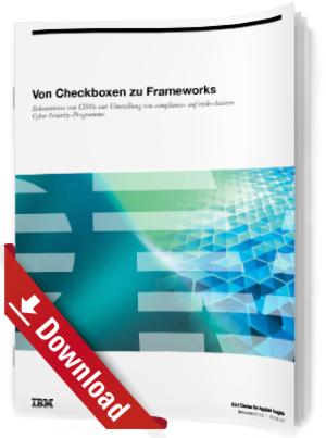Von Checkboxen zu Frameworks