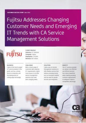 Kundenbedürfnisse und aufstrebende IT-Trends mit CA-Service-Management-Lösungen