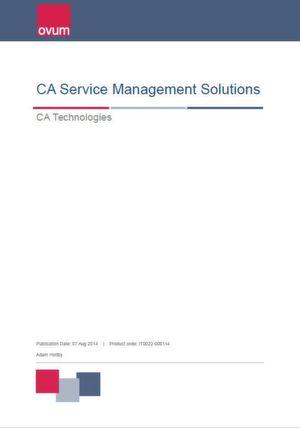 CA-Service-Management-Lösungen