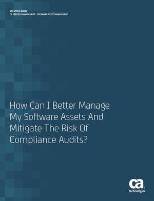Wie kann ich meine Softwareressourcen besser verwalten und das Risiko von Compliance-Prüfungen mindern?