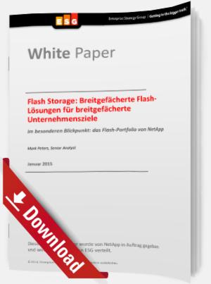 Flash-Lösungen für breitgefächerte Unternehmensziele