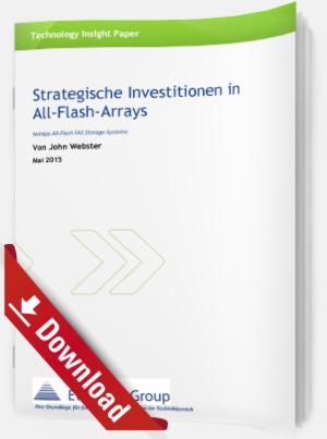 Strategische Investitionen in All-Flash-Arrays