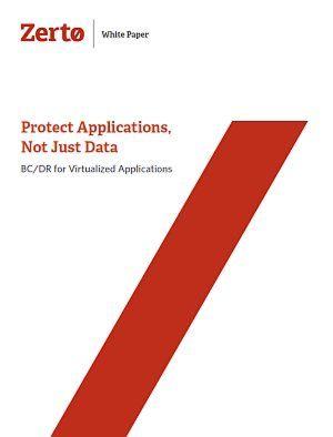 Anwendungen und nicht nur Daten schützen