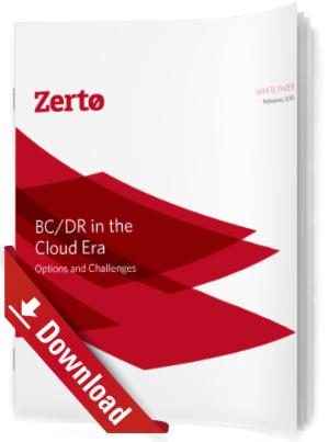 BC/DR im Zeitalter der Cloud