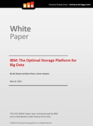 Die optimale Speicherplattform für Big Data