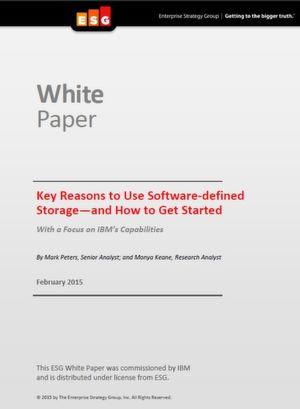Hauptgründe für die Nutzung von Software-Defined Storage - und wie der Einstieg gelingt