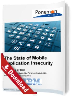Mangelnde Sicherheit bei mobilen Anwendungen