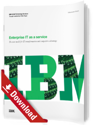 Enterprise IT as a service