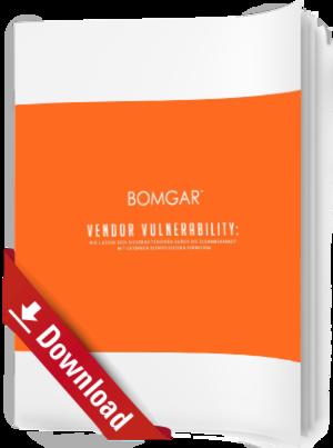 Vendor Vulnerability