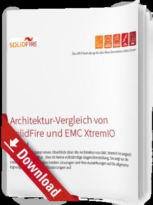Architektur-Vergleich von SolidFire und EMC XtremIO