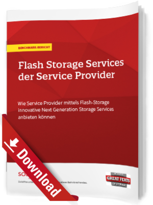 Flash Storage Services der Service Provider
