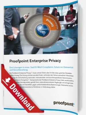 SaaS E-Mail-Compliance, Schutz vor Datenverlust und Verschlüsselung