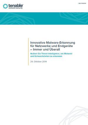 Malware-Erkennung für Netzwerke und Endgeräte