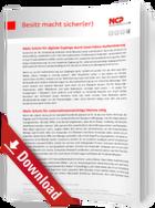 Schutz digitaler Zugänge durch Zwei-Faktor-Authentisierung