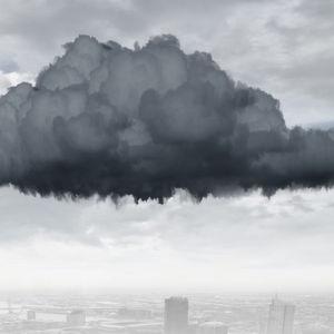Wolken werden ganz schnell dunkel