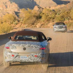 Abnahmefahrt: Mercedes E-Klasse Cabrio