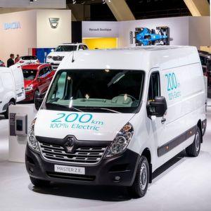 Der Renault Master Z.E.: Ein Elektrotransporter mit 200 km Reichweite.
