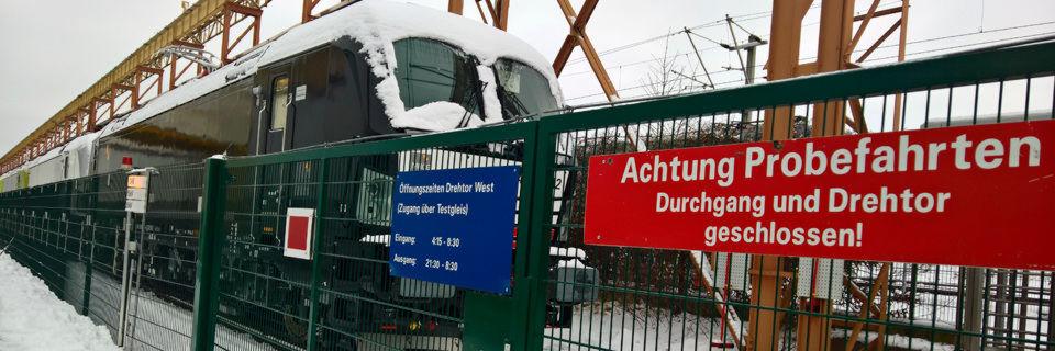 Siemens stellt in München-Allach jährlich rund 120 Diesel- und Elektro-Loks her, die an Bahnbetreiber in aller Welt gehen.