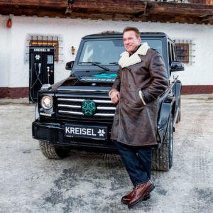 Arnold Schwarzenegger fährt jetzt G-Klasse – voll elektrisch mit 360 kW