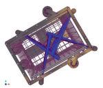 Das patentierte Düsenstocksystem mit oszillierenden Sprühstrahlen.