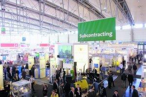 Die Fachmesse Subcontracting bietet Besuchern auf der Hannover-Messe 2008 einen umfangreichen Überblick über Zulieferer vielerlei Branchen Bilder: Deutsche Messe AG