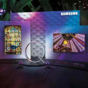 Samsung stellt Signage-UHD-Display mit Quantum-Dot-Technologie vor