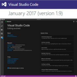 Microsoft Visual Studio Code 1.9