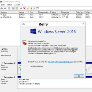 Windows Server 2016: ReFS in der Praxis nutzen