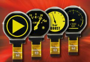 Die runden OLED-Displays von Electronic Assembly sind für die Industrie und Prozessautomatisierung ausgelegt.